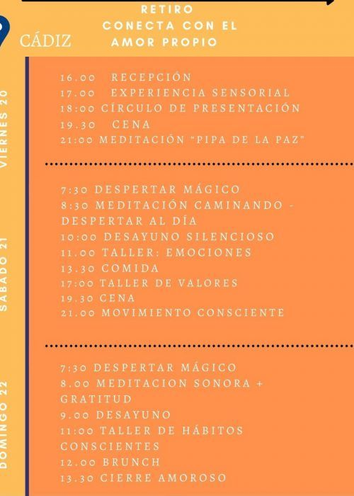 Programa retiro Cádiz